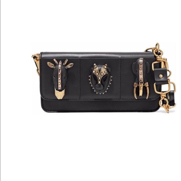 5237d06c68 Valentino Bags | Embellished Leather Shoulder Bag | Poshmark